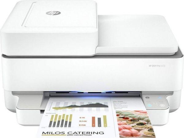 HP ENVY PRO6420, 3IN1, MFC Tintenstrahldrucker 5SE45B#BHC, A4, WLAN, Multifunktion, Gehäuse: Weiß