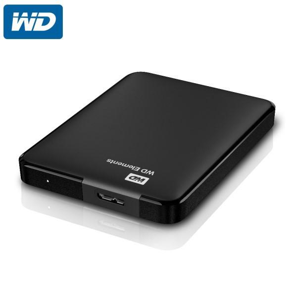 """HDD Extern WD 2,5"""" 2TB Elements Portable WDBU6Y0020BBK-WESN USB 3.0"""