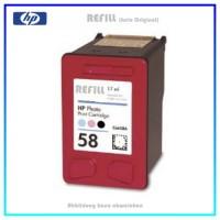 REF58 Refill Tintenpatrone Photo für HP - PHOTO Nr. 58 - C6658A - Inhalt ca. 17ml (kein Original)