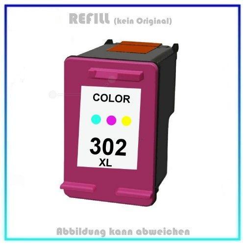 BULK 302CXL Alternativ Tinte Color für HP, F6U67AE, 18ml (EU)