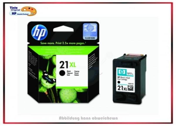 Nr.21XL, C9351CE, Original Tinte Black für HP, C9351CE - Inhalt ca. 475 Seiten