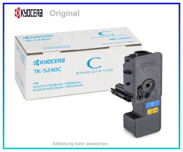 TK5240C - 1T02R7CNL0 - Original Cyan Toner Kyocera - TK5240C - 3.000 Seiten