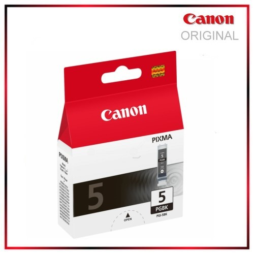 PGI5BK - 0628B001 - Black - Original Tintenpatrone f. Canon Pixma MP 500 - MP 510 - MP 520 - 380 S.