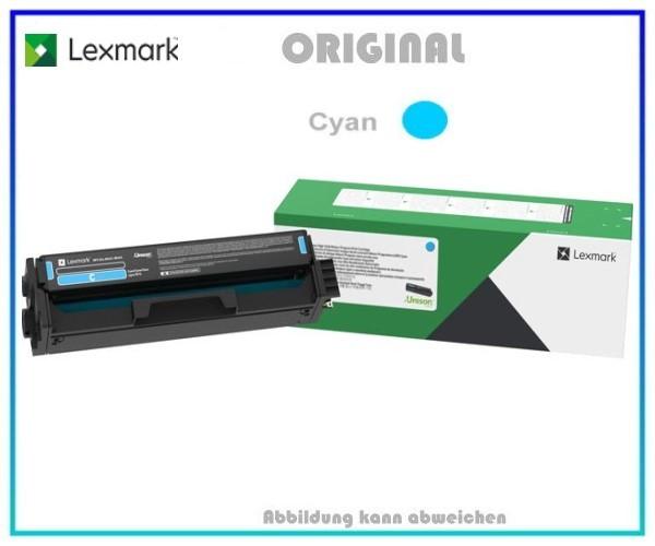C332HC0 LEXMARK CS3226 Original Toner Cyan - Inhalt 2.500 Seiten, C332HC0.