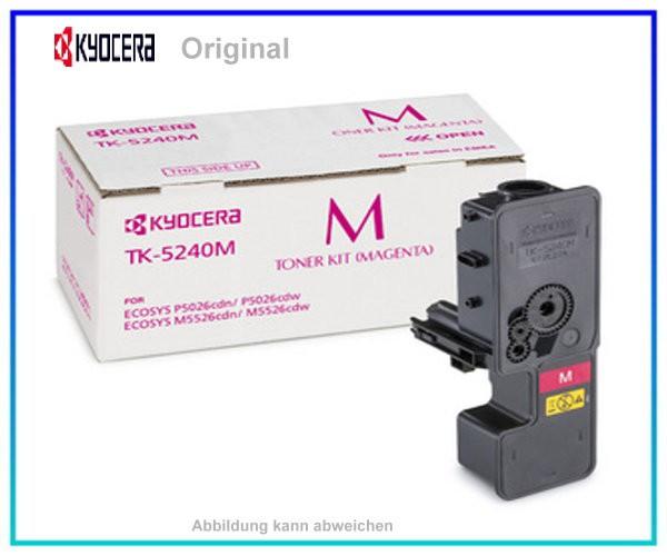 TK5240M - 1T02R7BNL0 - Original Magenta Toner Kyocera - TK5240M - 3.000 Seiten