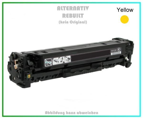 TONCE412A Alternativ Toner Yellow - HP CE412A (HP 305A) - Inhalt 2.600 Seiten.
