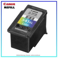 REFCL541XL Refill Tintenpatrone Color für Canon 5226B005 - CL541XL - Inhalt ca. 25ml