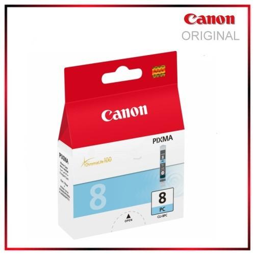 CLI8PC, 0624B001, Photocyan, Original, Tintenpatrone f. Canon Pixma IP 6600