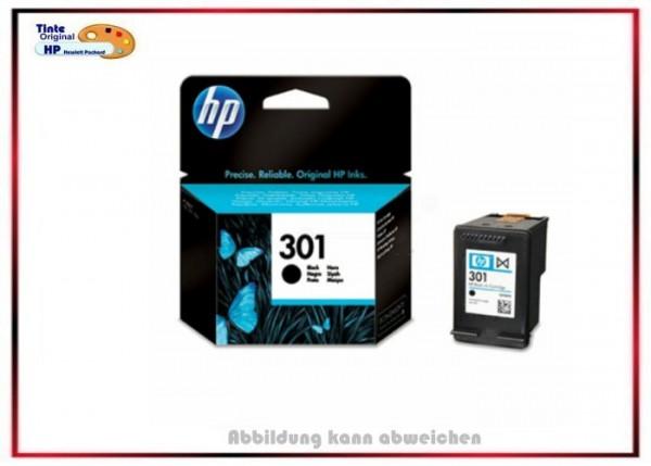 HP-301BK, CH561EE, Original Tintenpatrone Black für HP CH561EE, Inhalt 3ml = 190 Seiten.