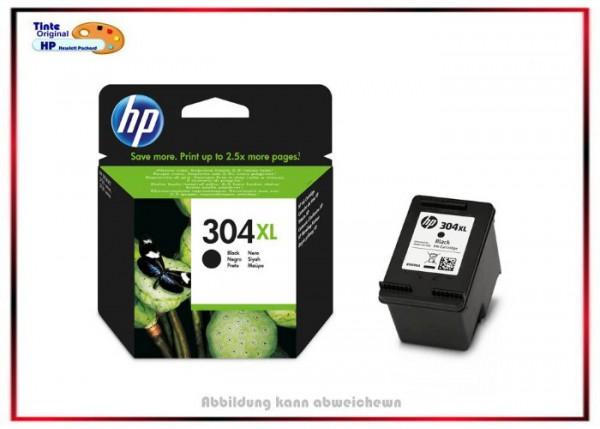 Nr. 304XL - N9K08AE - Original Black für Hp DJ3720 - N9K08AE - Inhalt: 300 Seiten