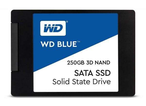 """SSD WD Blue 250GB Sata3 2,5"""" 7mm WDS250G2B0A 3D NAND"""