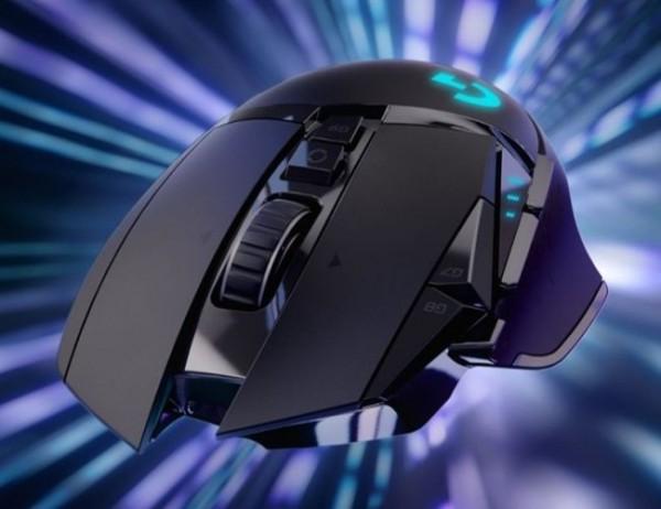 Logitech - G502 LIGHTSPEED KABELLOSE GAMING-MAUS