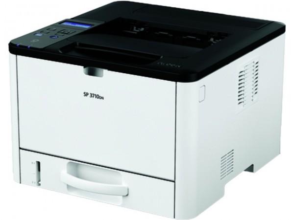Ricoh SP3710DN NEU Laser A4/Legal 1200 x 1200 dpi bis zu 34 Seiten/Min. 250 Blätter USB2.0,LAN,NFC