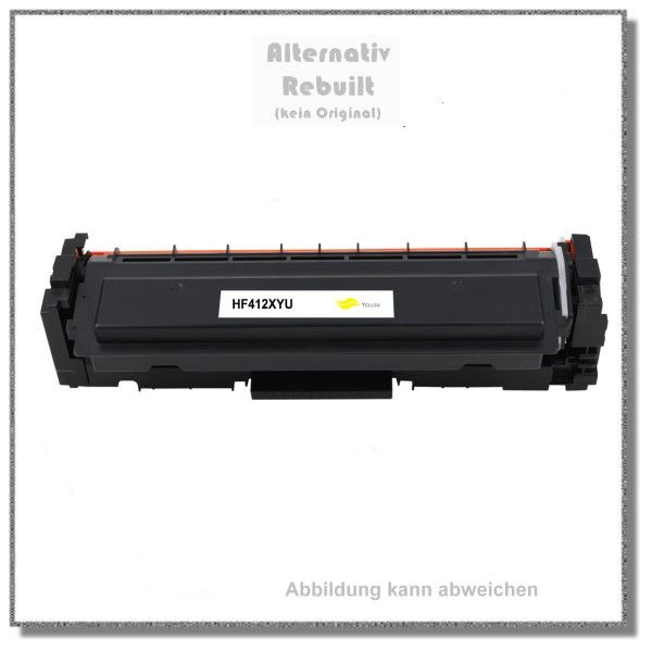 CF412X Alternativ Toner Yellow für HP CF412X - 412X - Color Laserjet Pro M450,MFPM477,5000 Seiten