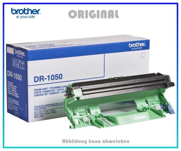 DR1050 Original Trommel Black für Brother - DR1050 - Inhalt ca. 10.000 Seiten.