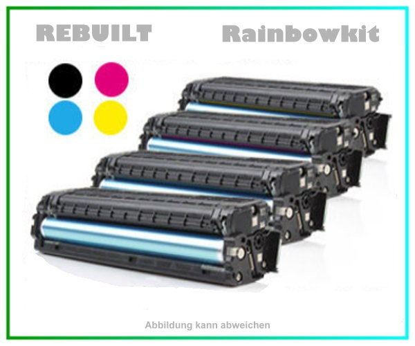 Rainbowkit TONCLP415 mit Chip - BK+C+M+Y - Toner f. Samsung CLP415 - CLX4195 - BK = ca. 2.500 Seiten
