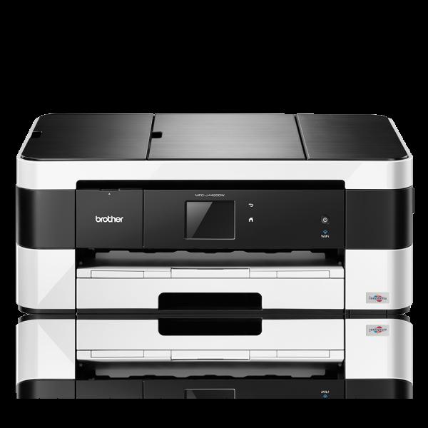 Brother MFC-J4420DW, Tinten-Multifunktionsdrucker Farbe, Kopierer/Fax/Drucker/Scanner 6000x1200 DPI