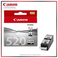 PGI520BK, PGI-520BK, 2932B001, Black - original Tintenpatrone f. Canon Pixma IP 3600 - IP 4600