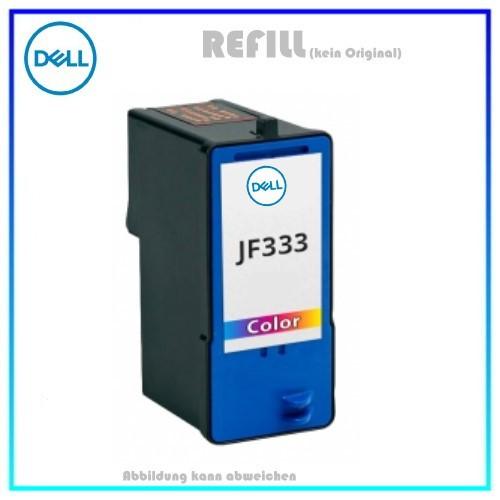 REFJF333 - JF333 - Alternativ Tintenpatrone Color f. Dell 725 - Dell 810 u.a. Dell 59210177, 104 Sei