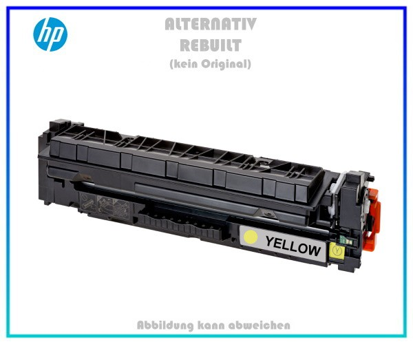 TONCF412X Alternativ Toner Yellow für HP CF412X - 412X - Color Laserjet Pro M450,MFPM477,5000 Seiten
