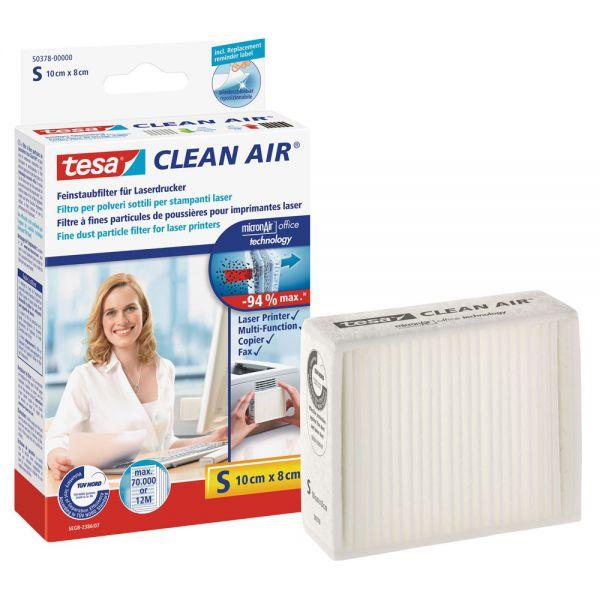 Tesa Clean Air, Größe S, Feinstaubfilter für Laserdrucker, Größe S