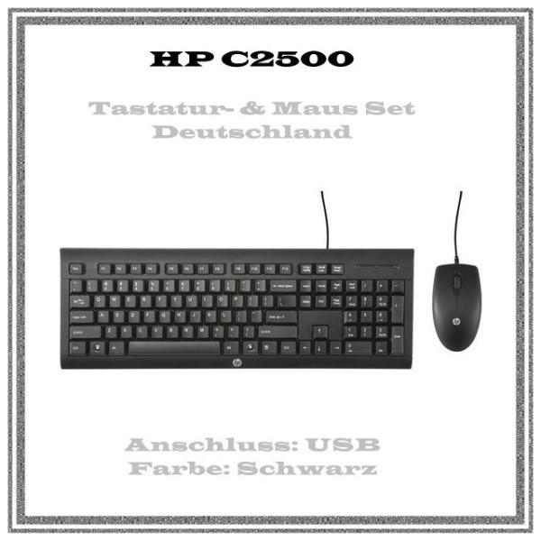 HP C2500 Desktop - Tastatur-und-Maus-Set - Deutschland