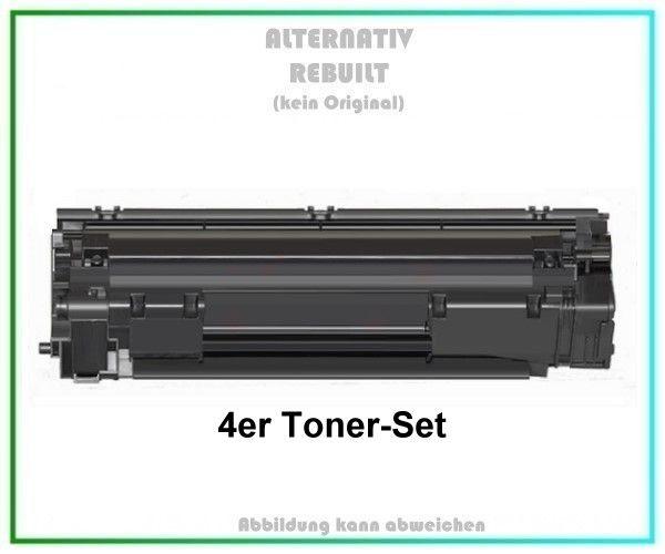 4er Set, TONCF283A, CF-283A, Alternativ Toner Black für HP CF283A, 83A - Inhalt: 4x1.500 Seiten.