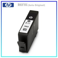 REF903BK Alternativ Tinte Black für HP - 903BK - T6L99AE - Inhalt 18ml