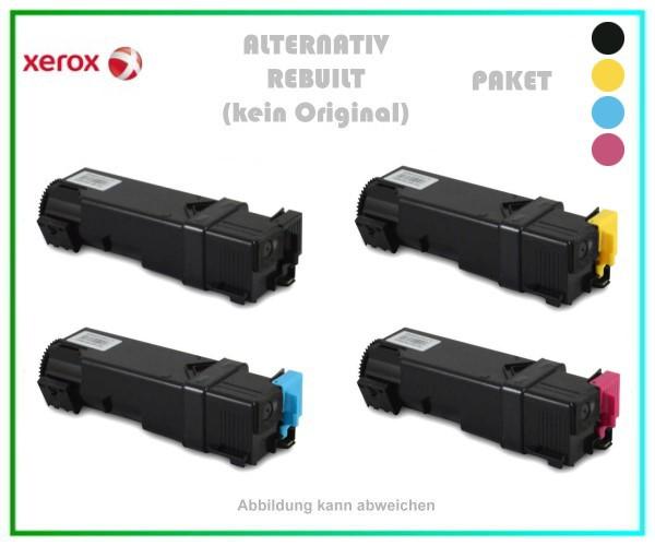 TONPHASER6500-PAK, Alternativ Toner Black + Cyan + Magenta + Yellow Paket - f. Xerox Phaser 6500