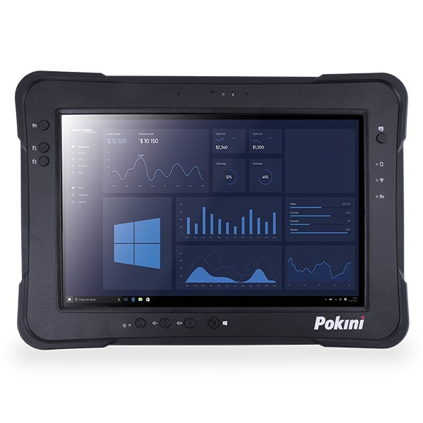 "Pokini Tab K10, 8GB, 256GB, Seriell, LTE 10.1"" Full Rugged Tablet-PC"