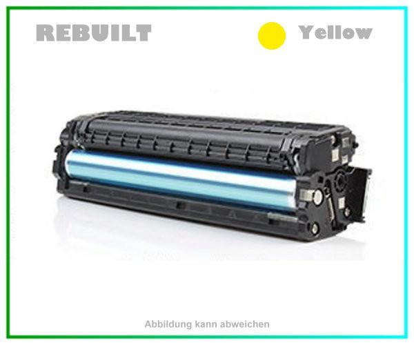 CLP415Y - Yellow Toner f. Samsung CLP415 - CLX4195 - Inhalt f. ca. 1.800 Seiten - CLT-Y504S/ELS