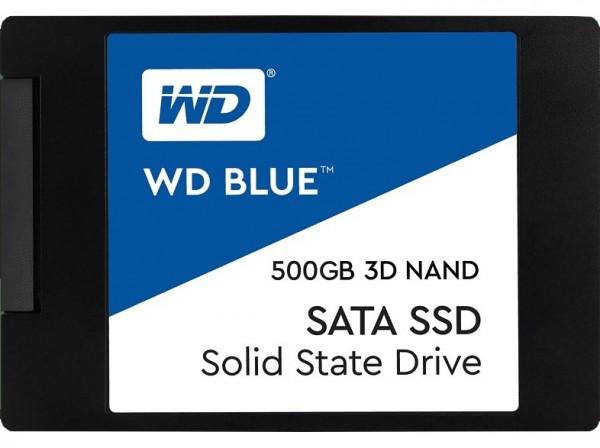 """SSD WD Blue 500GB Sata3 2,5"""" 7mm WDS500G2B0A"""