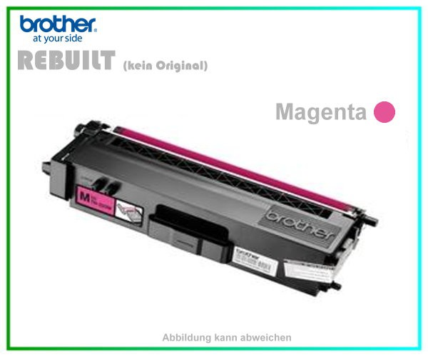TONTN325M - TN-325M - TN320M - Magenta - Mehrweg Lasertoner f. Brother - Inhalt ca. 3.500 Seiten