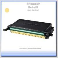 TONCLP660Y Alternativ Toner Yellow für Samsung - CLP-Y 660 B/ELS-K - Inhalt für 5.000 Seiten