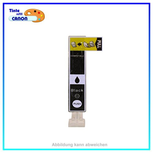 BULK PGI525BK Alternativ Tinte Black für Canon - 4529B001 - Inhalt ca. 20ml - mit Chip. (kein Origin