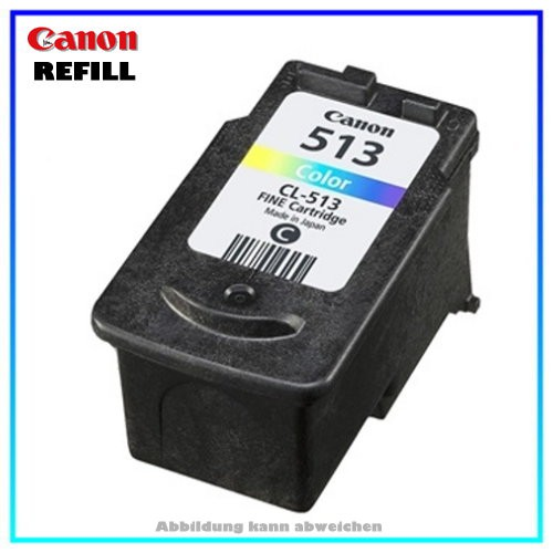 CL513 Refillpatrone Color für Canon Pixma MP 240 - MP 480 - MP 260 - MP 250 - MP 490 - MP 495 - MX 3