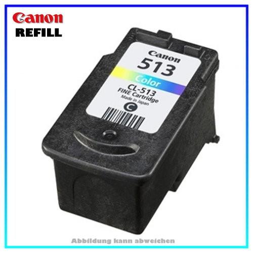 CL513 Refillpatrone Color für Canon Pixma MP 240 - MP 480 - MP 260 - MP 250 - MP 490 - MP 495 - MX 3