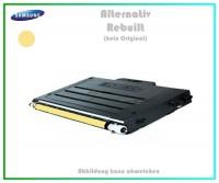 CLP510Y Mehrweg Lasertoner für Samsung CLP510 Yellow - CLP510 D5Y-ELS-K - Inhalt ca.5.000Seiten