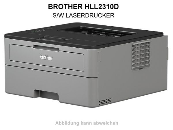 BROTHER HLL2310D S/W LASERDRUCKER - HLL2310DG1, DIN-A4, DUPLEX, MONO (s/w).