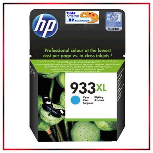 CN054A - Nr.933XL - original HP Cyan Tintenpatrone - CN054AE - HP Nr 933XL Cyan = ca. 825 Seiten.