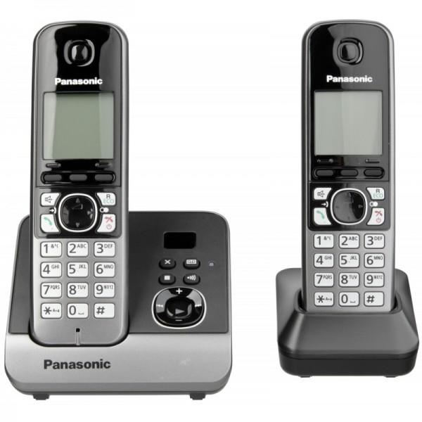 Panasonic KX-TG6722GB - Klassisches Schnurlostelefon mit Anrufbeantworter. Versandkostenfreie Liefer