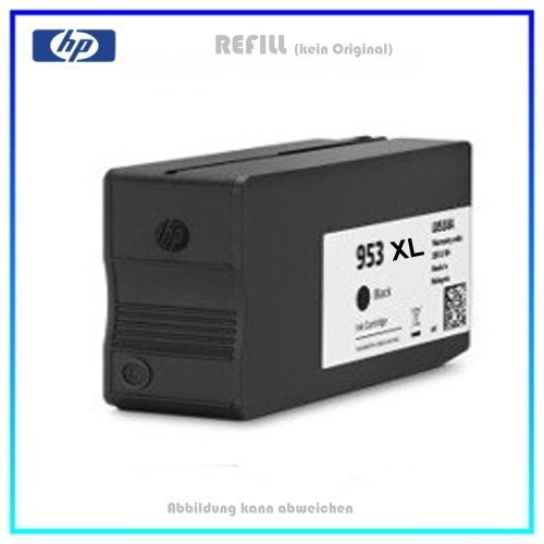REF953XLBK Refill Tintenpatrone Black für HP - L0S70AE - 953XLBK - HP953 - Inhalt ca. 56ml