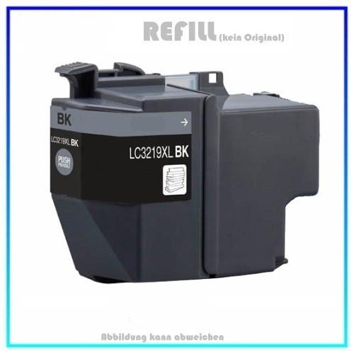 LC3219BK Alternativ Tintenpatrone Black für Brother LC-3219BK - Inhalt ca. 68ml.