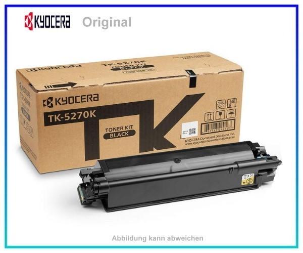 TK5270K, TK5270K, 1T02TV0NL0, Original Toner Black, TK-5270K, für Kyocera, K=8.000 Seiten