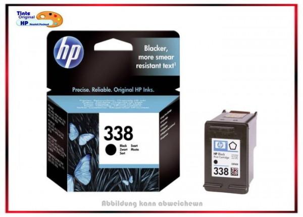 Nr.338 - C8765EE - Original HP Black Tintenpatrone für C8765EE - Inhalt ca. 11 ml