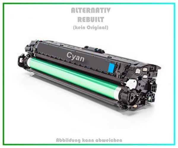 TONH341A Alternativ Toner Cyan für HP - CE341A - Inhalt 13.500 Seiten