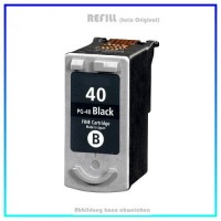 REFPG40/50 Refill Tinte Black für Canon - PG-40 / PG-50 - Inhalt 22ml.