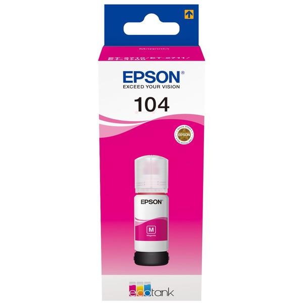 EPSON Ecotank Original Magenta Tinte 104 - T00P34 - C13T00P340
