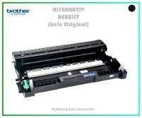 TONDR2220, DR-2220, TN 450, Alternativ Trommel Black f. Brother HL 2240 - HL 2250, 12.000 Seiten
