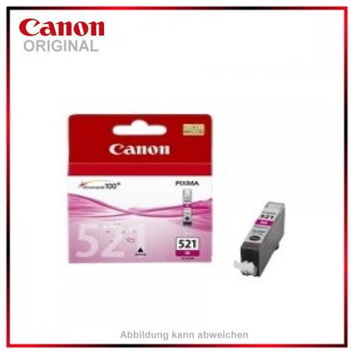 CLI521M - 2935B001 - Magenta original Tintenpatrone f. Canon Pixma MP 620 - IP 4600 X - MP 540 - MP